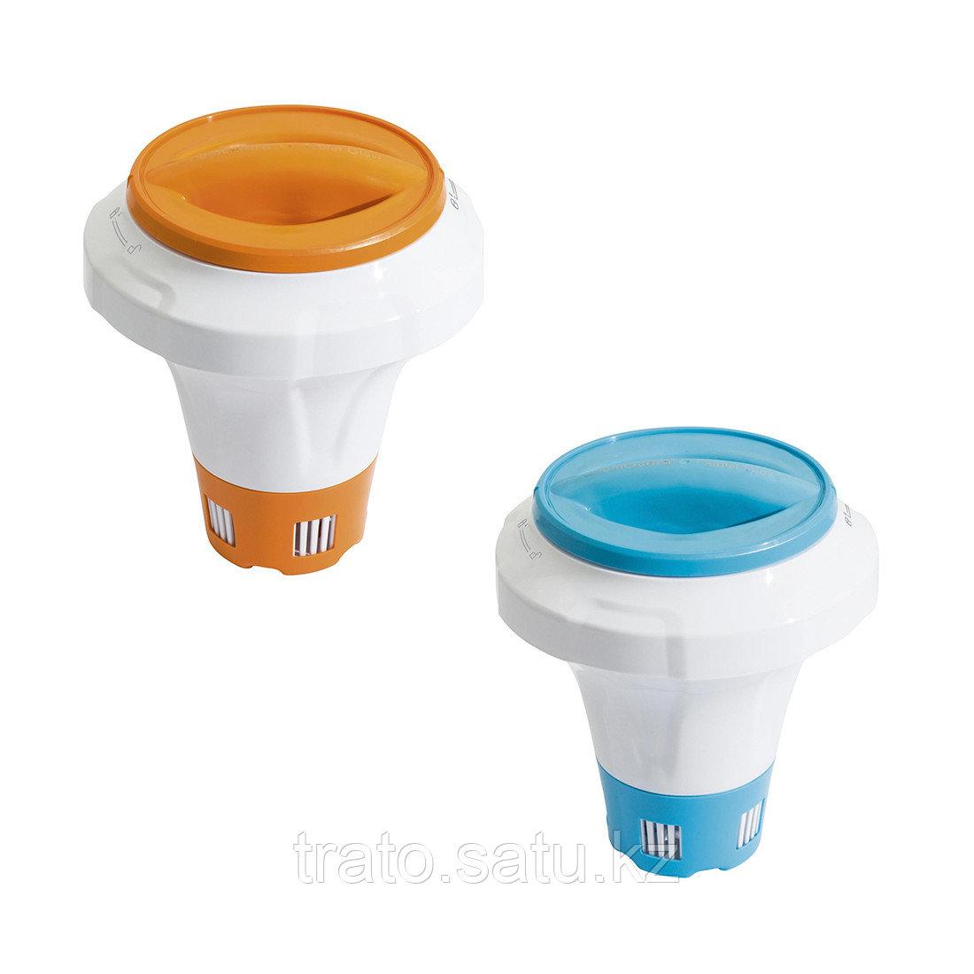 Дозатор плавающий для химикатов Flowclear 21 см с перчаткой Chemguard