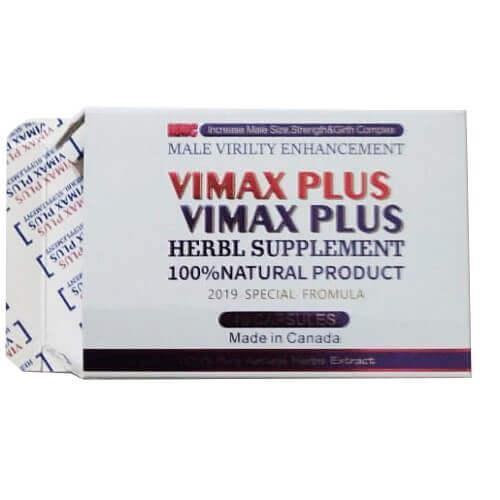 Vimax Plus 10 капсул