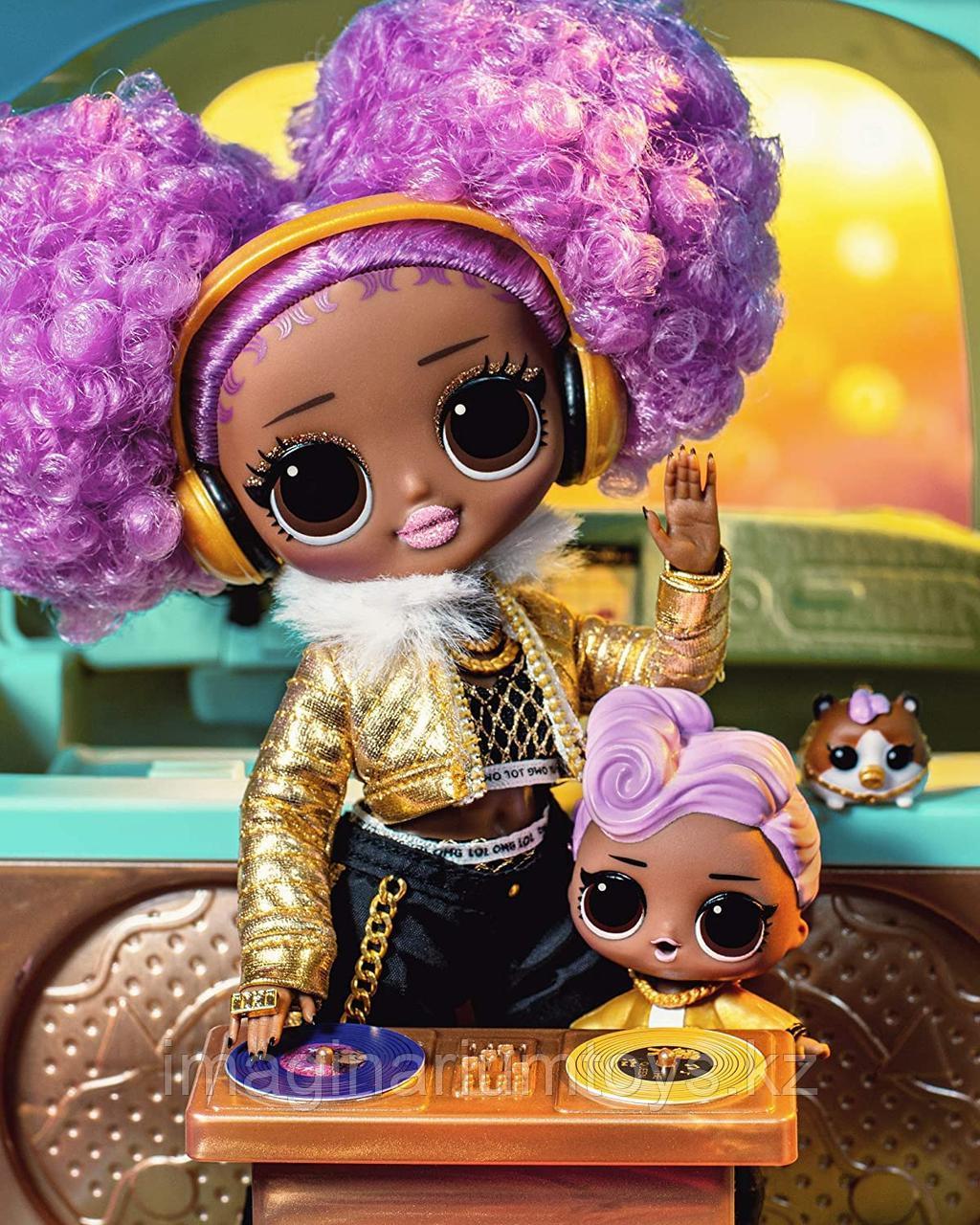 Большая кукла LOL OMG 24K DJ Леди Диджей - фото 4