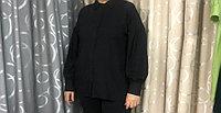 Блузка легкая как перо . из настоящего штапеля