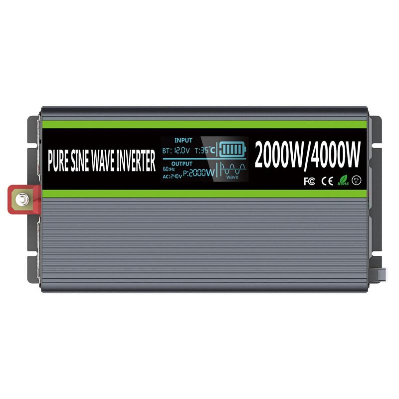 Инвертор (Преобразователь)от 0.6 до 3кВт 12В/встроенный МРРТ контролле