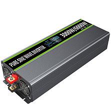 Инвертор (Преобразователь)от 0.6 до 3кВт 12В/встроенный МРРТ контролле, фото 2