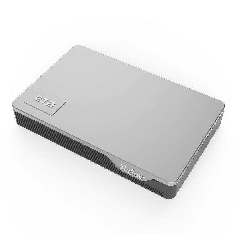 Внешний жесткий диск 2,5 2TB Netac K338-2T серый