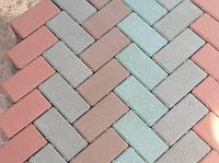 Тротуарная плитка 20*10*0,7 см