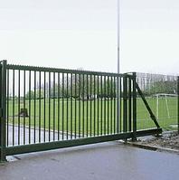 Откатные ворота решетчатые