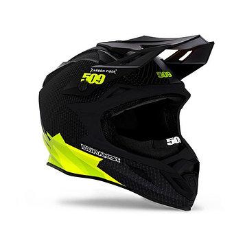 Шлем 509 Altitude Carbon Fidlock, размер XS, чёрный, жёлтый, зелёный, белый
