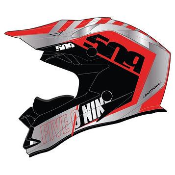 Шлем 509 Altitude Fidlock® (ECE), размер XS, красный
