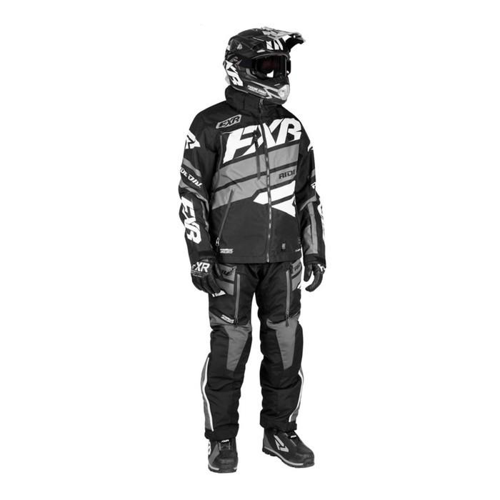 Костюм FXR Boost без утеплителя, размерXL, чёрный, серый