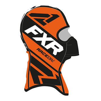 Балаклава FXR Cold Stop RR, размер L, чёрный, оранжевый