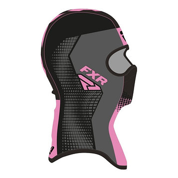 Балаклава FXR Shredder Tech, размер L, чёрный, серый, розовый