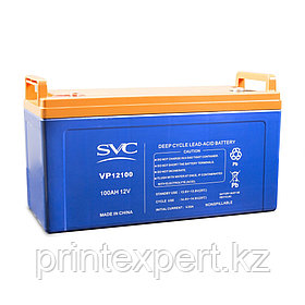 Батарея SVC 12В 100 Ач