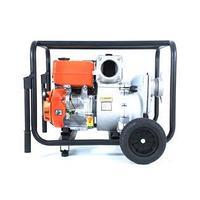 Мотопомпа бензиновая для грязной воды Tarlan TWP 100TМ с колесами, фото 1