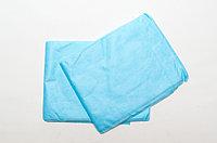 Простыни одноразовые GKS, спанбонд 25 гр/м2, голубой 200м*80см (1 шт.)