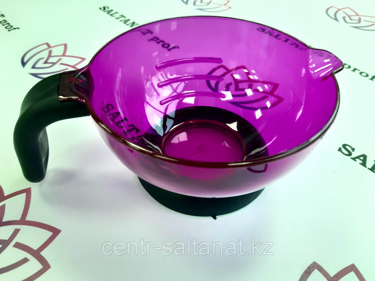 Чашечка для разведения краски сиреневая
