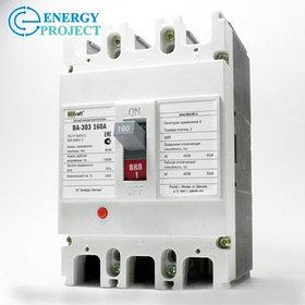 Автоматический выключатель ВА 303 3П 125А Dekfaft