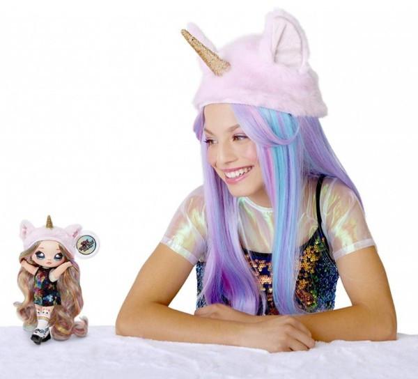 NA! Na! Na! Surprise - мягкие куклы с животным-помпоном-сумочкой Roxie Foxy (лиса) от MGA - фото 6