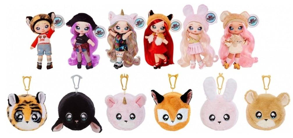 NA! Na! Na! Surprise - мягкие куклы с животным-помпоном-сумочкой Roxie Foxy (лиса) от MGA - фото 7