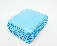 Простыни одноразовые стандарт, 200м*80см, голубой, CMC 17 гр/м2, Чистовье, упаковка 20 шт