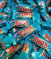 """Шоколадные батончики Twix minis (Твикс мини) """"соленая карамель"""" 1кг /на вес/"""