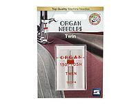 ORGAN иглы двойные 1-100/4 Blister
