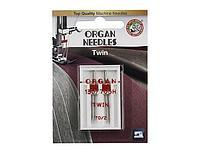 ORGAN иглы двойные 2-70/2 Blister