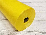 Простыни в рулоне с перфорацией желтые 0,8*2м, 100 шт (12 гр)