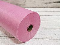 Простыни в рулоне с перфорацией розовые 0,8*2м, 100 шт (15 гр)