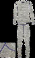 Термобелье AVI-Outdoor NordKapp ILMA (M, Серый/Фиолетовый)