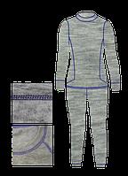 Термобелье Junior AVI-Outdoor NordKapp NEVA (126-136, Серый/Фиолетовый)