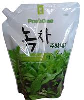 Poshone Натуральное средство для мытья посуды овощей и фруктов Green Tea Purity Dishwashing Liquid / 1200 мл.
