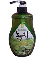 Poshone Натуральное средство для мытья посуды овощей и фруктов Green Tea Purity Dishwashing Liquid / 750 мл.