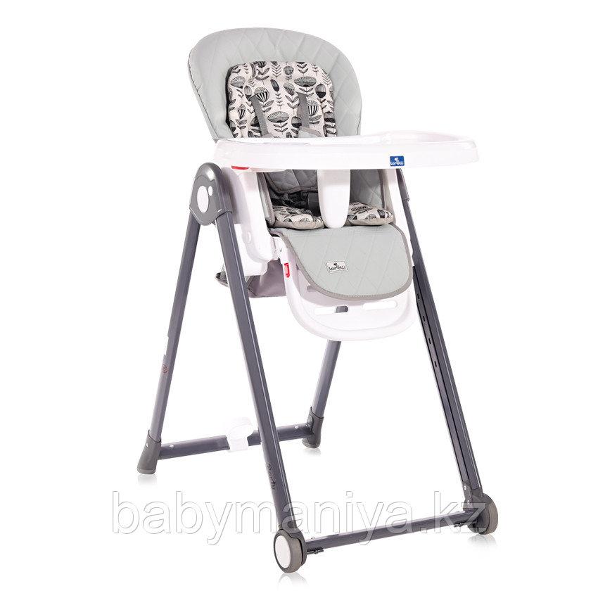 Стульчик для кормления Lorelli PARTY Серый / COOL GREY LEATHER 2123