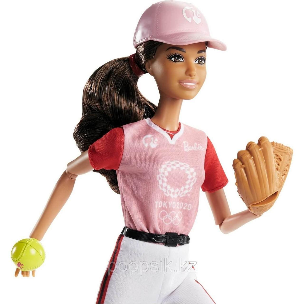 Barbie Барби-Бейсболистка GJL77 - фото 1