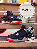 Кроссовки Nike Air Jordan баскет чер крас пятка 1211-1