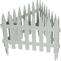 "Декоративный забор ""Рейка"" белый 28 х 300 см Palisad 65004 (002)"