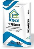 Шпатлевка Черновик 25 кг Real Mix