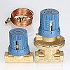 Автоматический регулятор перепада давлений в комплекте с запорно-регулировочным клапаном, фото 3