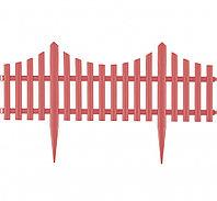 "Декоративный забор ""Гибкий"" коралловый 24 х 300 см Palisad 65018 (002)"