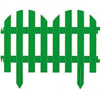 """Декоративный забор """"Романтика"""" зеленый 28 х 300 см Palisad 65022 (002)"""