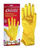 Перчатки резиновые, химически-стойкие