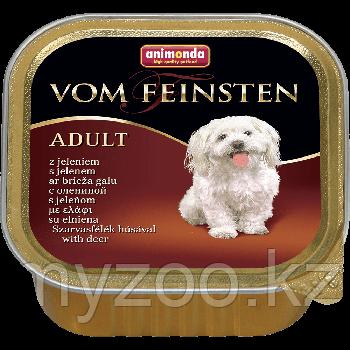 Консервы Vom Feinsten Adult с олениной для взрослых собак, 150 гр