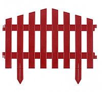 """Декоративный забор """"Марокко"""" терракот 28 х 300 см Palisad 65032 (002)"""