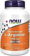 БАД L-аргинин, двойная концентрация, 1000 мг (120 таблеток)
