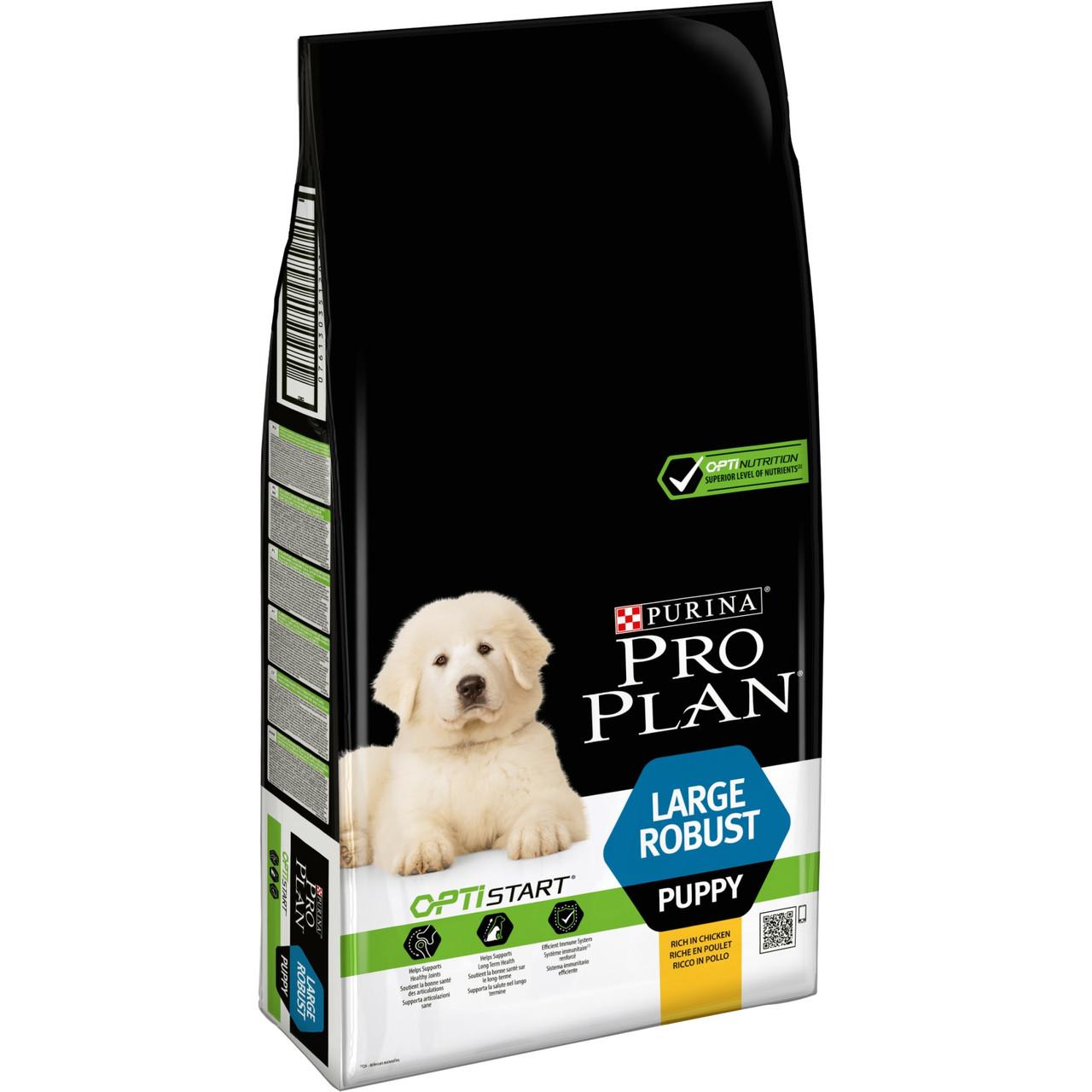 ПроПлан Puppy Large Robust Корм для щенков крупных пород