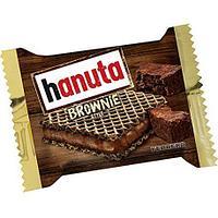 Hanuta brownie вафли брауни 22гр (10шт в упаковке)
