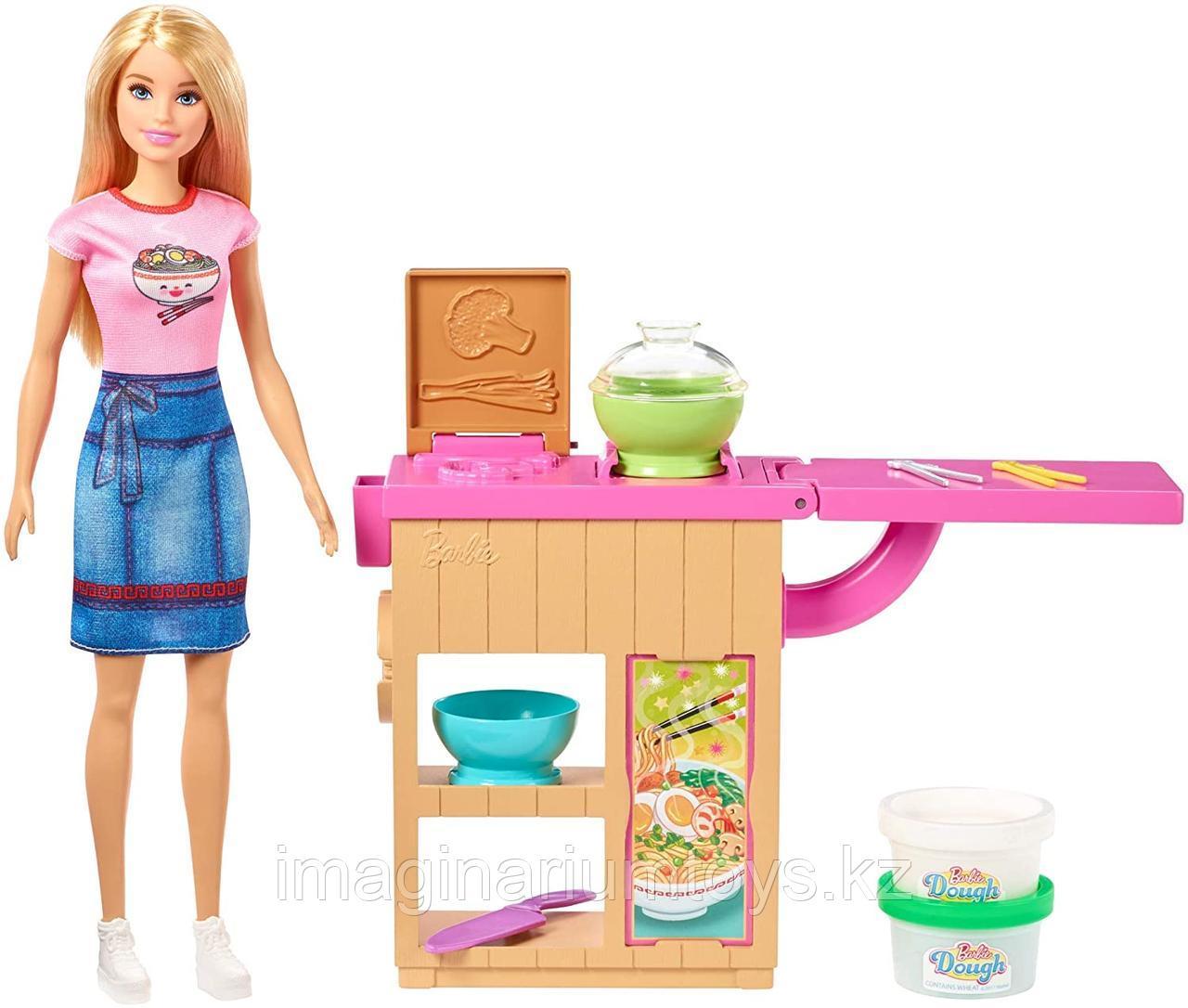 Игровой набор Barbie Барби Повар. Приготовление лапши