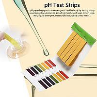 PH-тест индикаторные лакмусовые полоски 80шт.