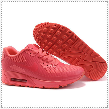 Кроссовки Nike Air Max 90 Hyperfuse розовые размер 41 Евро в наличии, фото 2