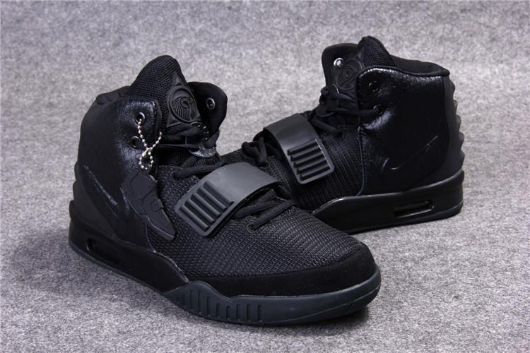 Nike Air Yeezy 2 (Kanye West) кроссовки черные в наличии размер 40 Евро
