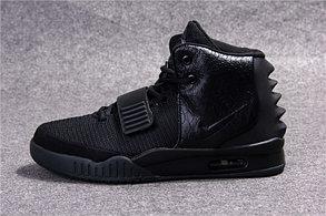Nike Air Yeezy 2 (Kanye West) кроссовки черные в наличии размер 40 Евро, фото 2
